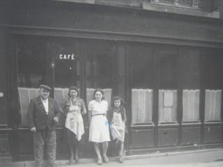 Le Vaudesir en 1940 tenu par la famille Debladis originaire de Thiezac dans le Cantal