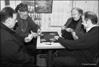 Partie de cartes au Vaudésir