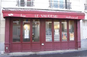 Le Vaudésir, rue Dareau